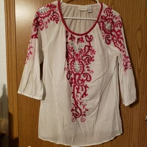 Chico's Ladies Blouse with bling